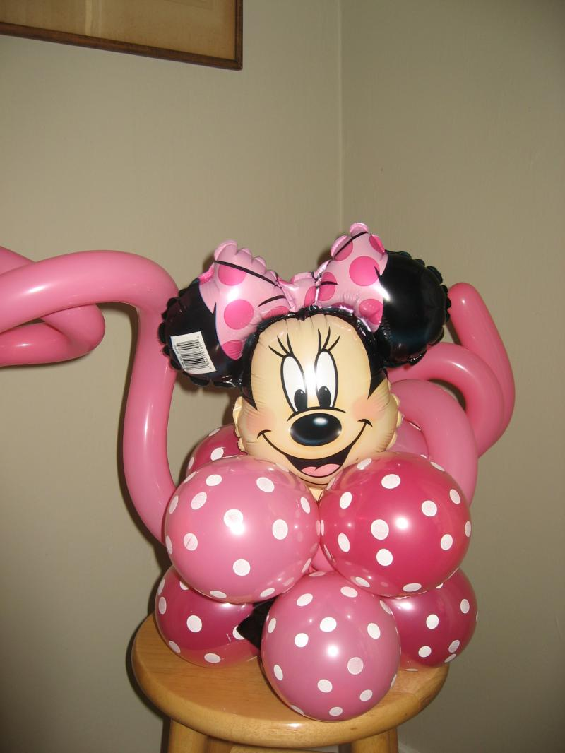 Minnie mouse balloon decorations 28 images 17 best for Balloon decoration minnie mouse